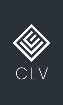 Le logo du cabinet CLV